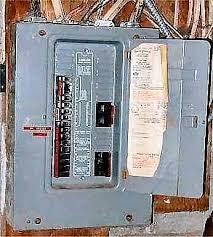 John Curtin Home Inspector - Electric Federal Pacific Panel Box